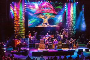 allman brothers light show